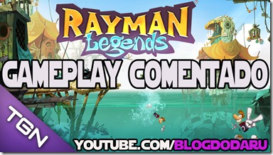 Rayman Legends: Gameplay Comentado