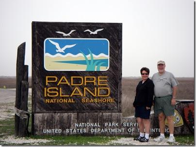 Kay and Donald, Padre Island National Seashore, TX