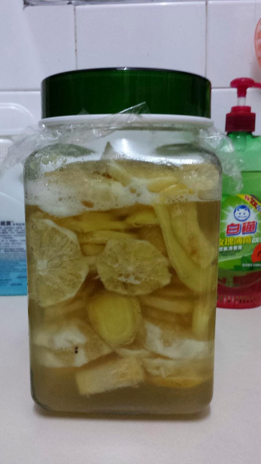 媽咪網誌: 檸檬薑酵素