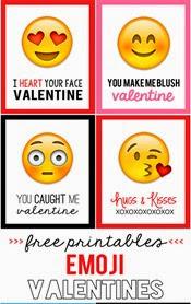 My Sister's Suitcase - Emoji Valentines