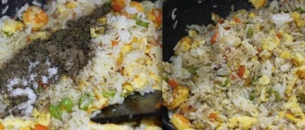Prawn Fried Rice step7