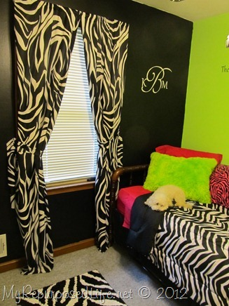 Teen Room Makeover (Zebra Print) (30)