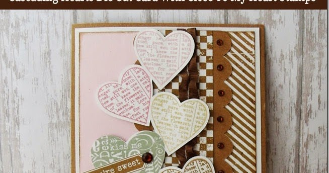 Download My Paper Crafting.com: Cascading Heart SVG Die Cut Close ...