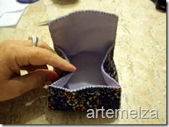 artemelza - bolsa de feltro duplo-15