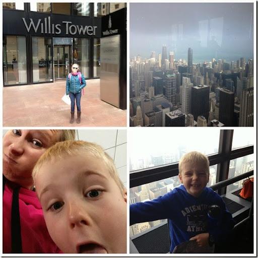 willis tower Collage