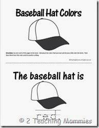 Baseball ColorBook