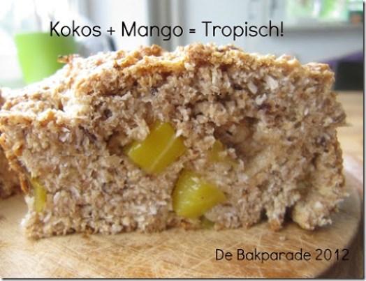 Tropisch Mango Kokos Brood