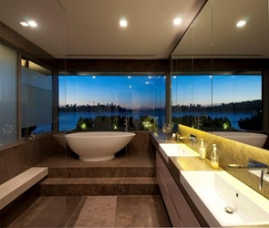 Baño de lujo reformado