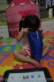 My Body Cards in poms-poms bag