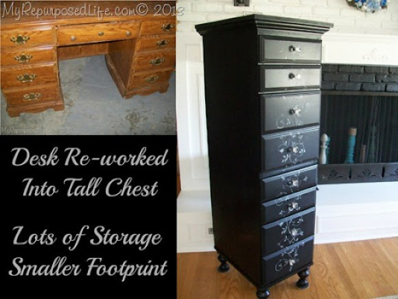DIY Tall Lingerie Chest