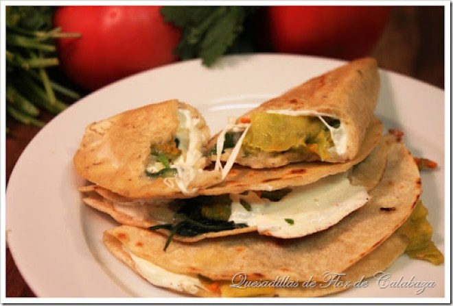 Squash Quesadilla| Vegetarian Quesadilla Recipe| Authentic Mexican Recipes by Mexico in My Kitchen