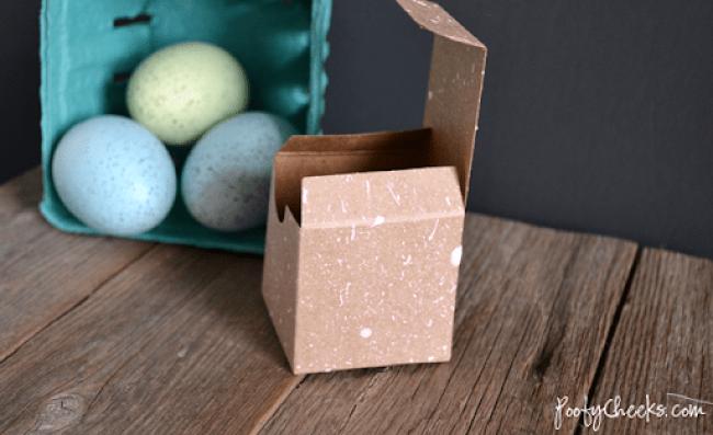 Speckled Egg Painting Technique #easter #eggs