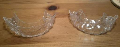 clear plastic retainers