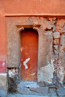 door in Buda Castle