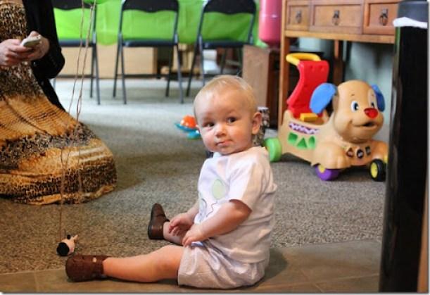 Hayden's first birthday 067