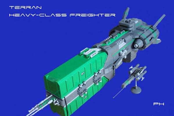 Terran Heavy Class Freighter