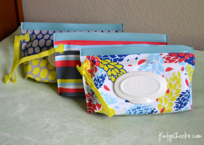 Within Arms Reach - Huggies Clutch 'n' Clean in three Stylish Prints