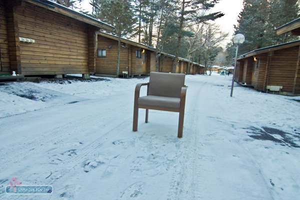 日本輕井澤飯店椅子