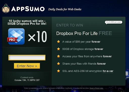 [好康分享] Dropbox 免費50GB 來了!輸入您的 Email 就有機會獲得終身免費的 50GB Pro 帳號 好康 新聞與政治 轉貼與節錄