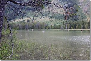 Westerners enjoy their outdoor recreaton.  String Lakes, Grand Teton NP