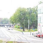 View on the main square from Kościuszko steel work.