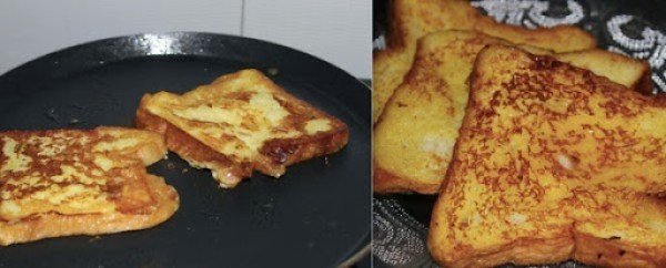 Eggless Freench Toast step3