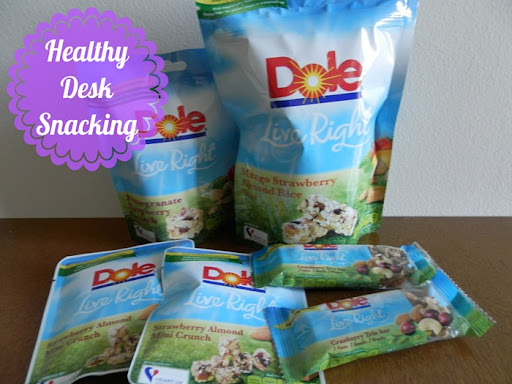 Dole healthy desk snacks