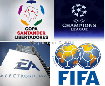 EA Games: adquire os direitos da Champions League e Libertadores para a serie FIFA para os próximos 3 anos