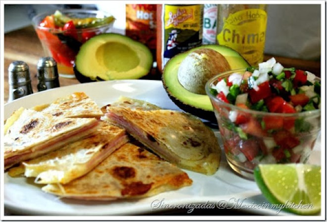 Mexican Quesadilla | Recipe for Quesadillas | Authentic Mexican Recipes by Mexico in My Kitchen