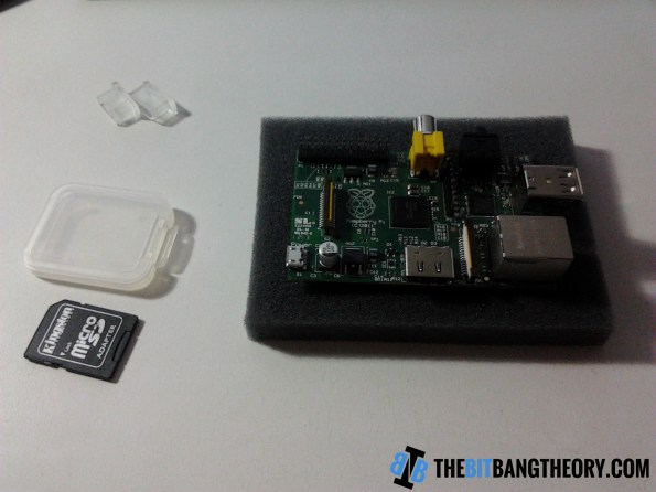 Raspberry Pi and SD card