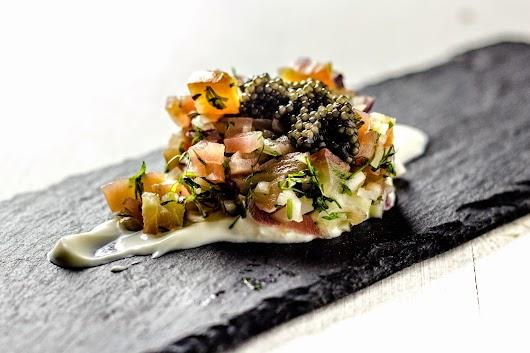 Caviar, rødbede, dild - Mikkel Bækgaards Madblog