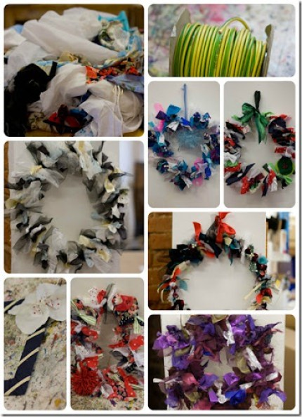 Xmas Wreath Collage