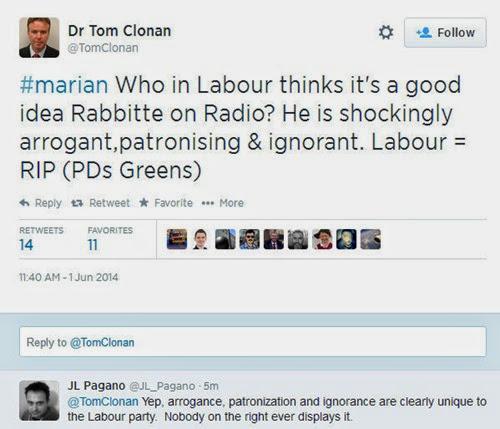 Clonan tweet