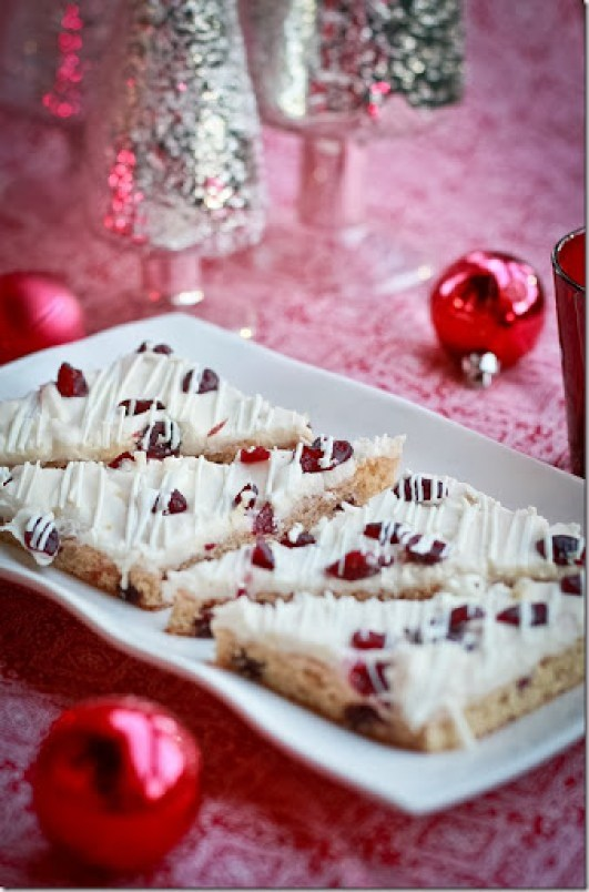 Starbucks' Cranberry Bliss Bars - Copycat Recipe   {by Let the Baking Begin!}