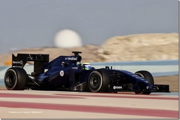2014 F1 Pre Season Test 2 - Day 3Bahrain International Circuit, Bahrain.Friday 21 February 2014.World Copyright: Glenn Dunbar/Lotus F1.ref: Digital Image _89P3556