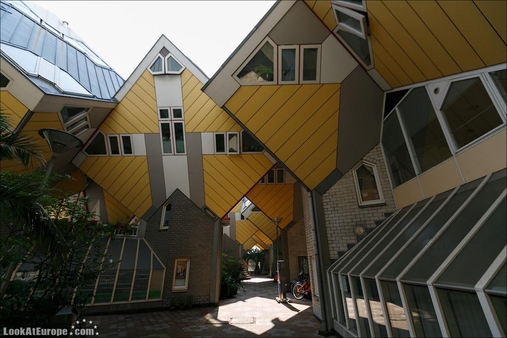 LookAtEurope.com - Кубические дома в Роттердаме | Holland, Kubuswoningen in Rotterdam
