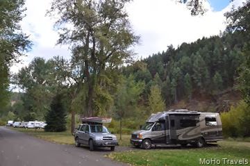 overnight at Hilgard Junction State Park