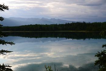 goodbye to Boya Lake