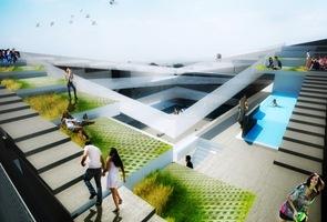 proyecto arquitectura Residencia de estudiantes cholula mexico