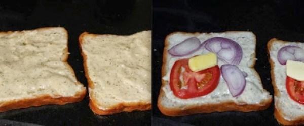 White Sauce Sandwich Step 4