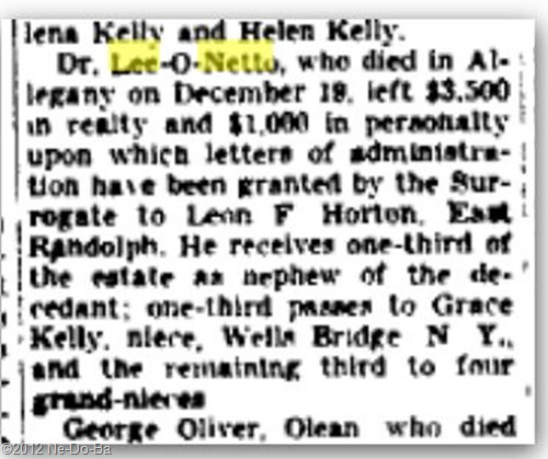 1940_NY_Olean Times-Herald_Jan-5_DrLeeEstate
