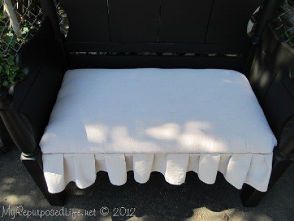 Twin bed-bench upholstered (33)