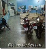 Motos no Hospital