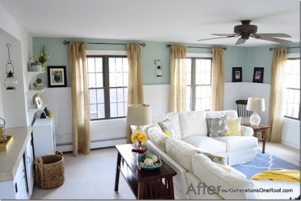 coastal, cottage, diy pottery barn inspired