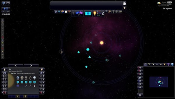 Sistema Solar Exploradores Dispersandose