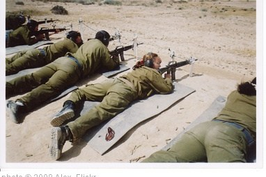 'Female IDF Soldier Shooting Practice' photo (c) 2008, Alex - license: http://creativecommons.org/licenses/by/2.0/
