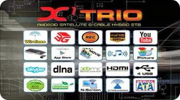 FREESATELITE HD DUO X1 TRIO