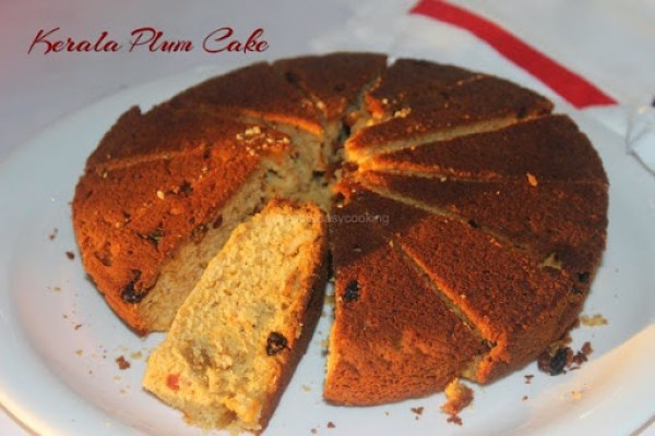how to make plum cake in pressure cooker