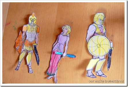 Greek Paper Dolls ~ Our Aussie Homeschool