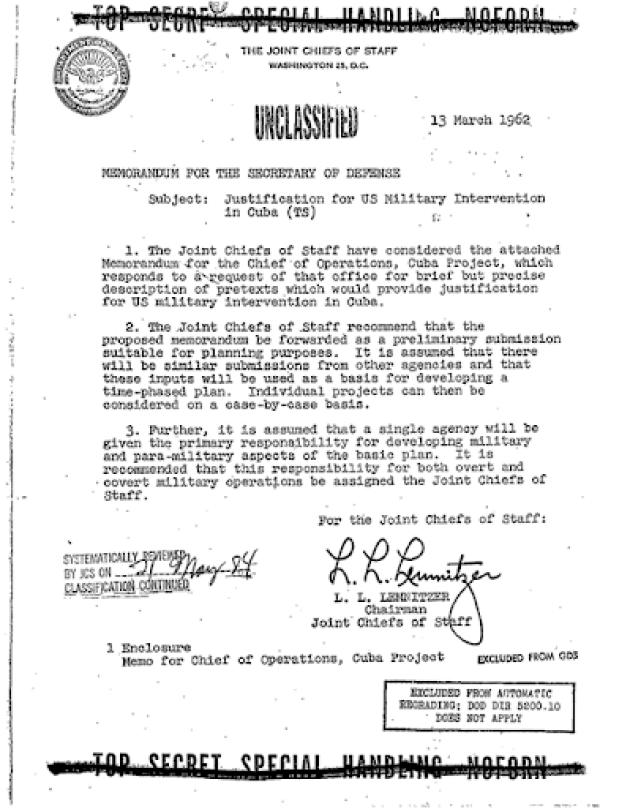 Primeira página dos documentos oficiais